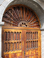 Traditional door in La Orotava/Tenerife