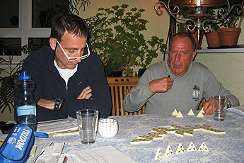 Games evening with Mitch and Gregorio
