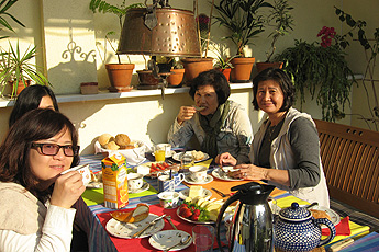 B&B visitors from Taiwan