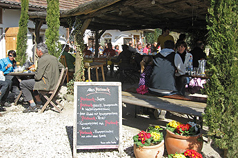 Seasonal tavern 'Martinshöfe'