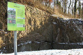 Old quarry near Achkarren Schlossberg