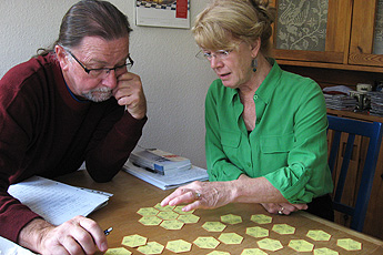 Bill and Sylvia in class