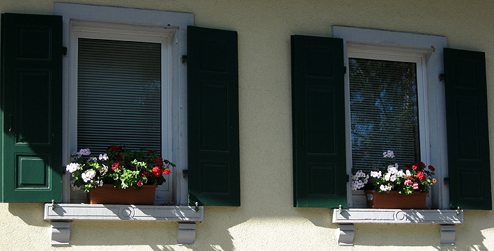 Windows of the Old Winegrower House